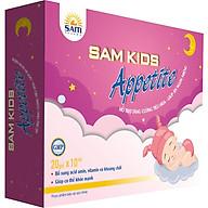Thực phẩm bảo vệ sức khỏe giúp bé ăn ngon Sâm Kids Appetite Hộp 20 gói thumbnail
