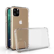 Ốp lưng chống sốc dành cho iPhone 12 Pro Max dẻo silicon trong cao cấp thumbnail