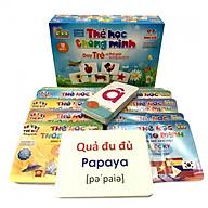 Bộ Thẻ Học Thông Minh Dạy Trẻ Về Thế Giới Xung Quanh 12 Chủ Đề 260 Thẻ Cho Bé thumbnail