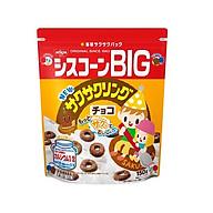 Ngũ cốc Nissin Big bánh vòng vị chocolate 150g mẫu mới Nội địa Nhật Bản - Tặng túi zip 3 kẹo mật ong thumbnail