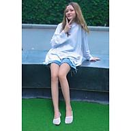 Tất vớ Nữ cao cấp, nhập khẩu Hàn Quốc thương hiệu KIKIYA SOCKS - Cool Netting Thread W-N-029 thumbnail