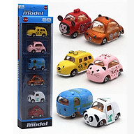 Bộ 6 xe mô hình Cartoon AlloyCar - Bằng sắt thumbnail