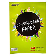 Giấy Bìa Màu ESPP A4 20 Tờ 10 Màu CPA420 thumbnail
