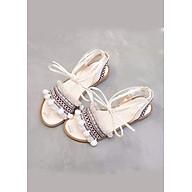 Giày sandal cột dây chiến binh thổ cẩm thumbnail