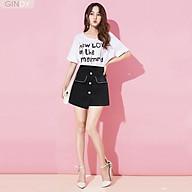 Chân váy chữ A GINDY nắp biển thời trang công sở trẻ trung hàng thiết kế V5105 thumbnail
