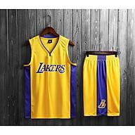 Bộ Quần Áo Bóng Rổ Los Angeles Lakers Vàng Mẫu 2020 thumbnail