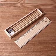 Hộp đựng bút bằng gỗ thumbnail