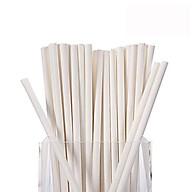Ống hút giấy trắng dùng 1 lần thân thiện với môi trường.Sử dụng cho mọi loại đồ uống giải khát, nước ngọt, trà, cà phê thumbnail