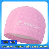 Mũ nón bơi vải PU Cleacco ôm kín tai chuyên nghiệp , không gây khó chịu , bệt tóc với nhiều màu sắc khác nhau, hiệu ứng 3D Cleacoo phù hợp cho vận động viên chuyên nghiệp hoặc người bơi hằng ngày - Hàng Chính Hãng thumbnail