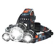 Đèn pin đội đầu 3 bóng L4 - thiết bị chiếu sáng đeo đầu tiện dụng thumbnail