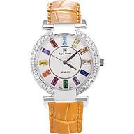 Đồng hồ nữ chính hãng Royal Crown 4604 - dây da cam thumbnail