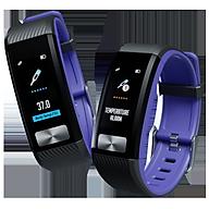 Đồng Hồ Đeo Tay Thông Minh Đài Loan- Đo Thân Nhiệt, Đo Điện Tâm Đồ ECG, Đo Nhịp Tim theo Kĩ Thuật Tích Đồ PPG, Đo Nồng Độ Oxy Trong Máu SPO2, Đo Huyết Áp, Nhịp Tim, Thông Báo Cuộc Gọi, Tin Nhắn. Sử Dụng Kết Nối Cho Cả Iphone và Android - Hàng Nhập Khẩu. thumbnail