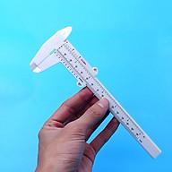 Thước kẹp 150mm nhựa trắng thumbnail