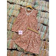 Set bộ mặc nhà hoa tiết hoa cúc - Hình shop tự chụp thumbnail