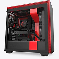 Vỏ Case Máy Tính NZXT H710 Màu Đen Đỏ - Hàng Chính Hãng thumbnail