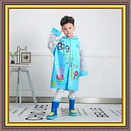 Áo mưa cho bé, Áo mưa trẻ em họa tiết cực đẹp đáng yêu, nhỏ gọn dễ gấp hoặc mang theo khi đi học thumbnail