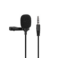 Omnidirectional Microphone 3.5mm Tie-clip Microphone Mini Microphone for Computer Laptop Mobile Phone thumbnail
