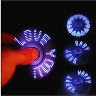 Bật Lửa Điện Hồng Ngoại Kiểu Dáng Con Quay Spinner tạo 9 hiệu ứng LED thumbnail