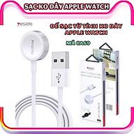Sạc không dây dành cho đồng hồ thông minh - Dây cáp sạc nam châm dài 1 mét hàng chính hãng Yesido dành cho Apple Watch Series 1 2 3 4 5 6 Se_CA69 thumbnail