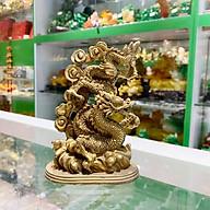 Tượng Rồng Nhỏ Đồng Nguyên Chất FD229 thumbnail