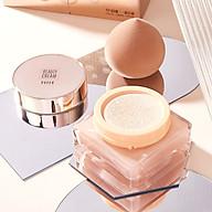 Kem nền che khuyết kháng nước dưỡng ẩm da HIH Beauty Cream Tặng kèm bông đánh phấn thumbnail