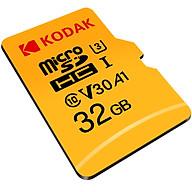 Kodak 32GB TF (MicroSD) memory card U3 A1 V30 speed version reading speed 100MB s support 4K high quality shooting thumbnail