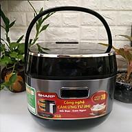 Nồi cơm điện cao tần Sharp KS-IH191V 1.8L, hàng chính hãng (Giao màu ngẫu nhiên) thumbnail