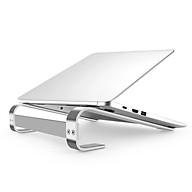 Giá đỡ laptop máy tính hợp kim nhôm gọn nhẹ siêu vững chắc - Hàng chính hãng thumbnail