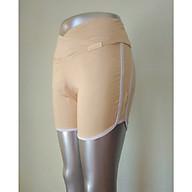 Quần mặc trong váy bầu cạp chéo phối sọc vải cotton thumbnail