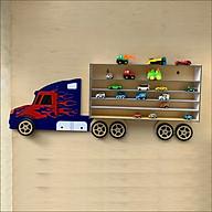Kệ để xe ô tô đồ chơi cho con trai (Xe container) thumbnail
