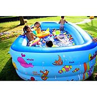 Bể Bơi Phao 2M1 3 tầng hàng Cao cấp (Tặng bộ miếng vá + h.d sử dụng) thumbnail