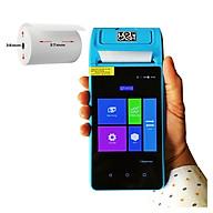 Lốc 10 cuộn giấy nhiệt in bill, in hóa đơn (thermal paper) TOPCASH khổ K57mm x 38mm dùng cho máy cà thẻ ngân hàng, máy in cầm tay, máy tính tiền POS cầm tay Now Delivery Grab Gojek - Hàng chính hãng thumbnail
