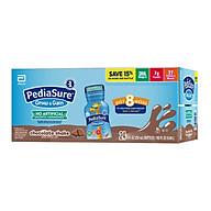 Sữa nước Pediasure Grow & Gain Chocolate Shake (Vị Sô-cô-la) 237ml x 24 Chai (Thùng) Mẫu mới 2020 - Nhập khẩu Mỹ thumbnail