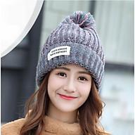 Mũ Len Nữ Nón Len Nữ slightly thời trang Hàn Quốc - DONA21012102 thumbnail