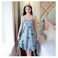 Váy ngủ nữ, đầm mặc nhà 2 dây HB15 thumbnail