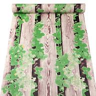 10m giấy dán tường giả gỗ và dây leo xanh C0103 thumbnail