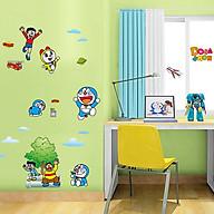 Decal dán tường trang trí phòng ngủ, lớp mầm non- Doraemon và những người bạn- mã sp DAY860 thumbnail