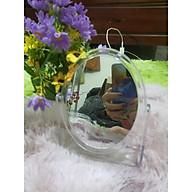 Gương Hai mặt 360Độ Gương soi trang điểm để bàn hình chữ nhật- hình tròn 18x21cm - Gương đê ba n, Gương soi, Gương gâ p thumbnail