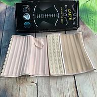 Đai nịt bụng latex ngắn 25 xương cao 25cm full hộp kèm sách hướng dẫn sử dụng thumbnail