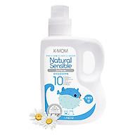 Nước xả vải hữu cơ K - Mom Hàn Quốc dạng can (1700ml) - Xanh thumbnail