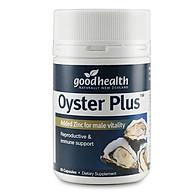 Thực phẩm chức năng tinh chất hàu biển NewZeland GoodHealth Oyster Plus - 60 Viên thumbnail