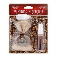 Túi thơm cafe khử mùi trên ô tô kèm chai xịt tinh dầu Hazelnut Korea thumbnail