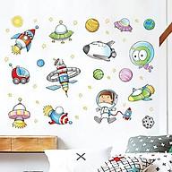Decal trang trí dán tường không gian phi hành gia cho bé XL7239 thumbnail