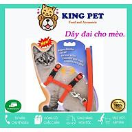 Dây xích cho mèo hai vòng ôm an toàn giảm bớt áp lực ở cổ cho mèo thumbnail