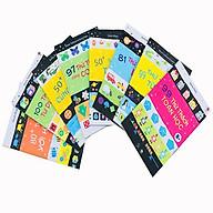 Sách - Combo 8 Cuốn Phát triển IQ cho Trẻ Từ 6+ ( IQ - Tư duy logic - Toán học - Con số - Hình ảnh - Mật mã - Trí nhớ - Từ vừng ) thumbnail