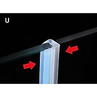 gioăng silicon gắn cửa kính chuyên dụng,gioăng chữ u, gioăng chữ f, gioăng chữ h tác dụng gắn vách kính, cửa nhà tắm cửa ra vào,cửa trượt ngăn nước bụi thumbnail