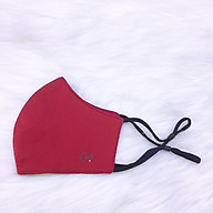 Khẩu Trang Kaki Cao Cấp Duy Ngọc - Vải Kaki quai đeo có nút điều chỉnh (9134) thumbnail