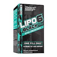 Thực phẩm hỗ trợ đốt mỡ, giảm cân Lipo-6 Black Hers Ultra Concentrate - Đốt mỡ cho phụ nữ - 120 viên thumbnail