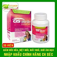 Viên uống cân bằng nội tiết tố nữ GS Merilin HARMONY giúp giảm triệu chứng tiền mãn kinh Nhập khẩu chính hãng CH Séc thumbnail