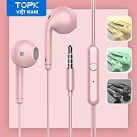Tai nghe nhét tai TOPK F17 âm thanh nổi bass nặng có dây AUX 3.5mm dùng cho OPPO Vivo HUAWEI Xiaomi Samsung - Ha ng nhâ p khâ u thumbnail